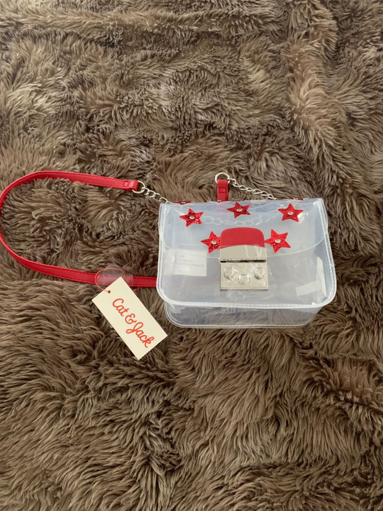 Clear Purse With Stars