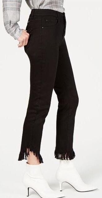 Fringe black Jeans