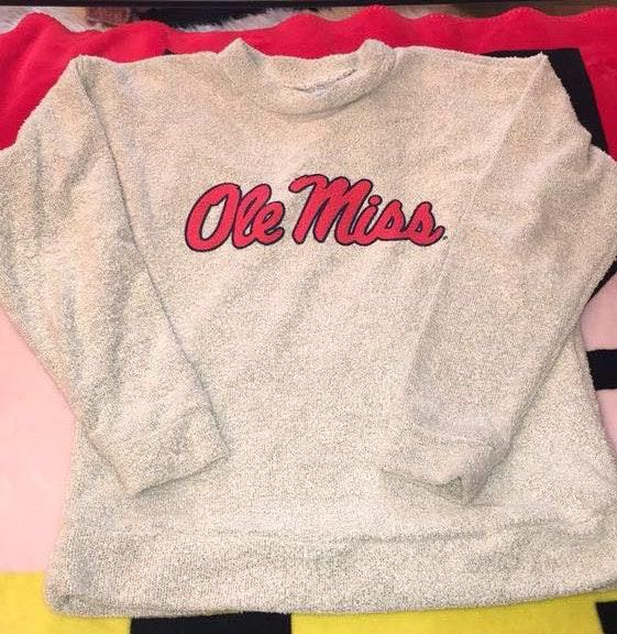 Woolly Threads Ole Miss Wooly Thread Sweater