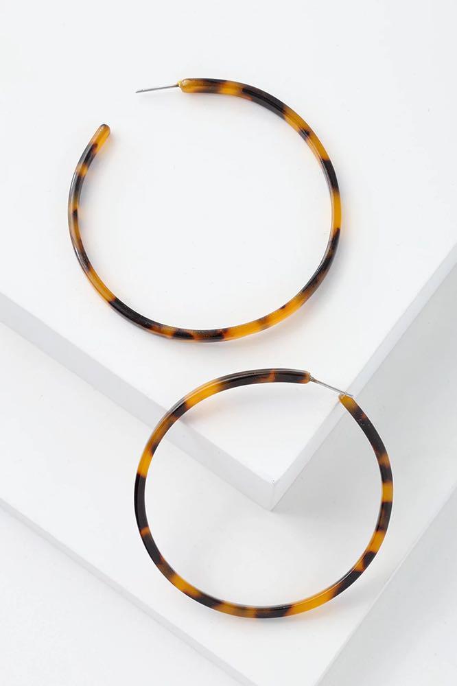 Lulus tortoise earrings