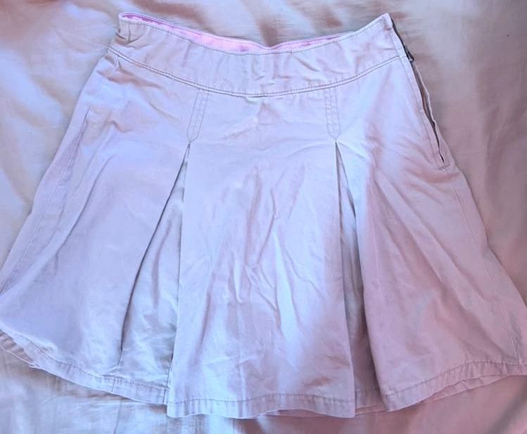 Gap kids khaki skirt