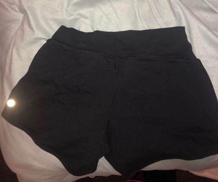Lululemon Black Lulu Compression Shorts