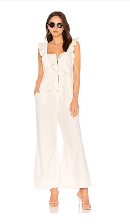 Free People White Jumpsuit