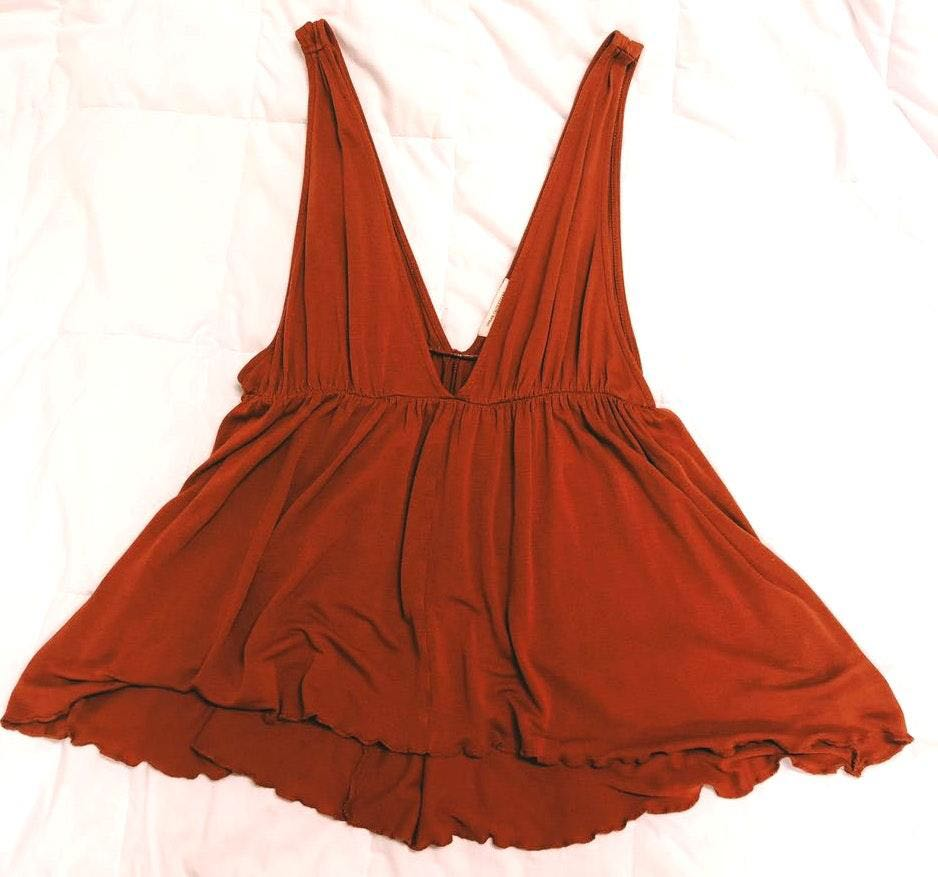 Urban Outfitters Burnt Orange Tank Top
