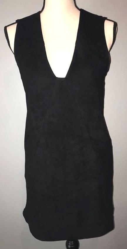 Dolce Vita Black Suede Dress