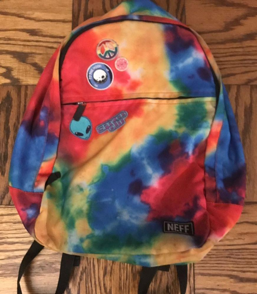 Target Neff Tie Dye Backpack Amazing Condition