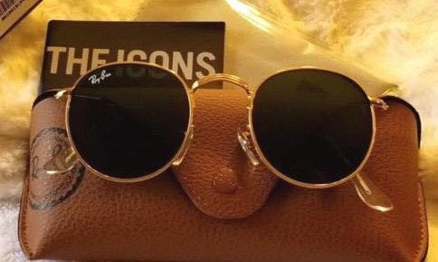 Ray-Ban ray ban round gold/black sunglasses