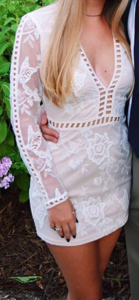 Tobi Short White Dress