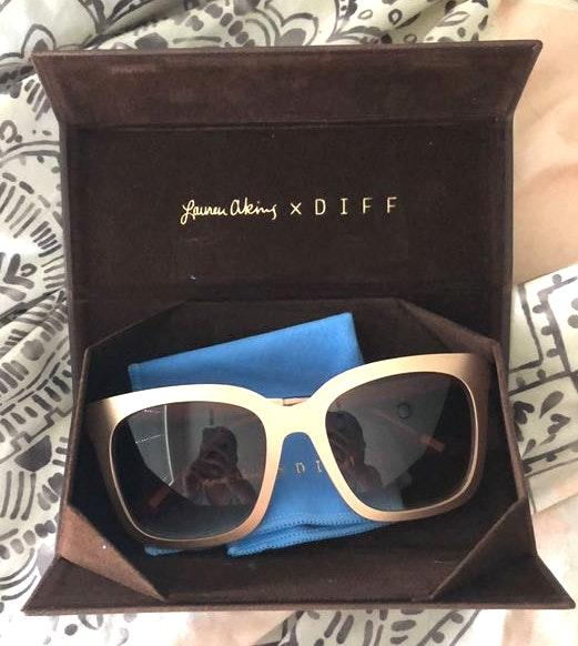 6f2eab3154328 DIFF eyewear Lauren Akins X DIFF Sunglasses