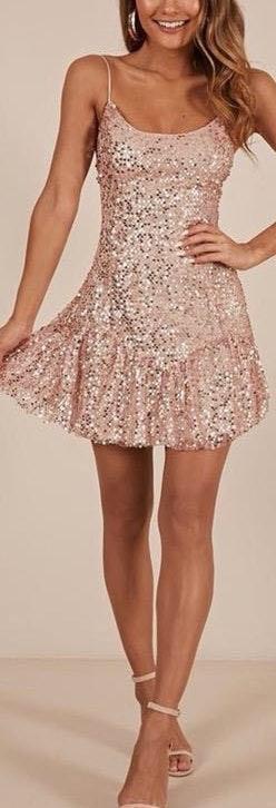 Showpo Sequin Dress