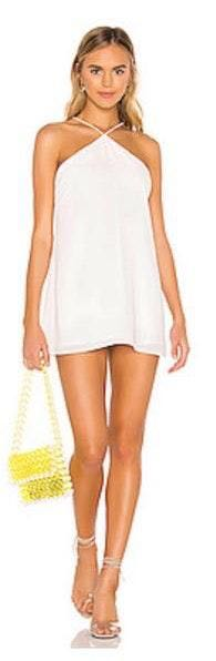 Revolve Worn Once! White Mini Dress