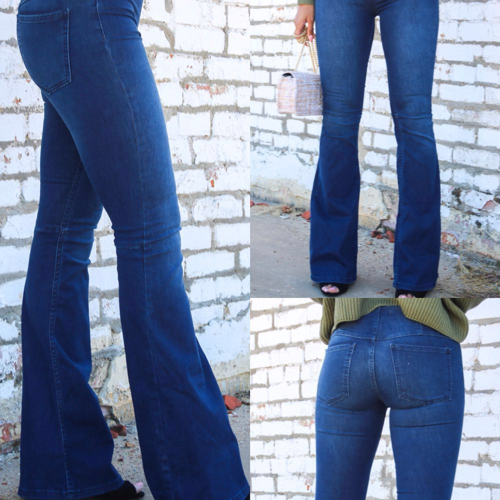 Free People Denim Flare Jeans