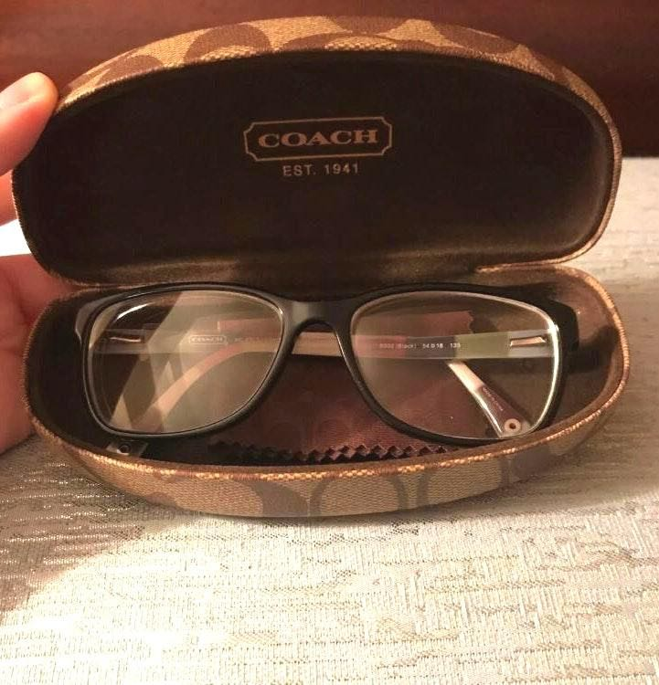 Coach Glasses And Case