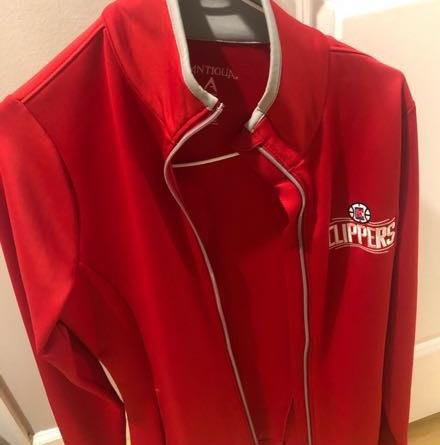 Clippers Vintage  Player Jacket