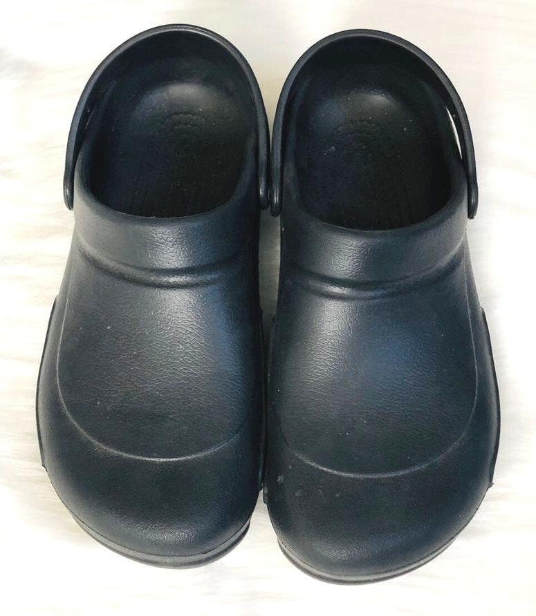Women's Black Bistro Clog Crocs