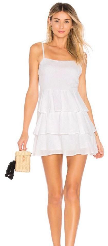 Privacy Please White Dress