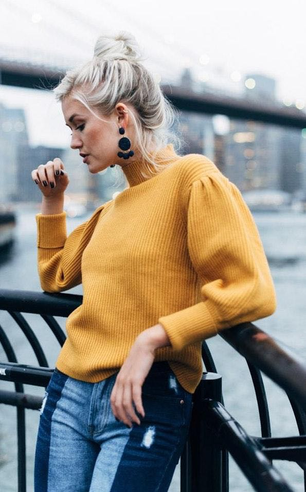 Vestique Mustard Sweater