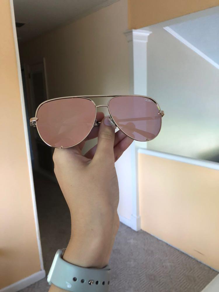 Quay Australia Quay High Key Sunglasses