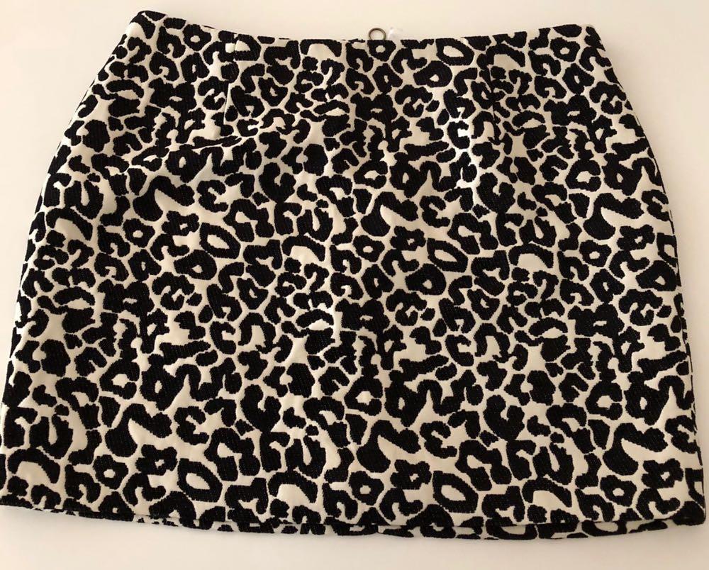 Kendall & Kylie Cheetah Print Skirt