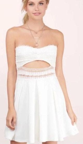 Tobi Strapless Dress