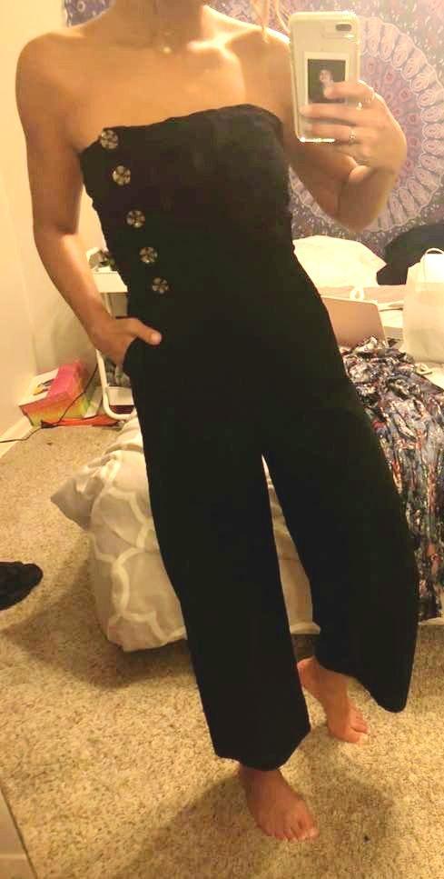 Honey Belle Black Jumpsuit