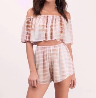 Tobi Rusty Tie Dye Two Piece