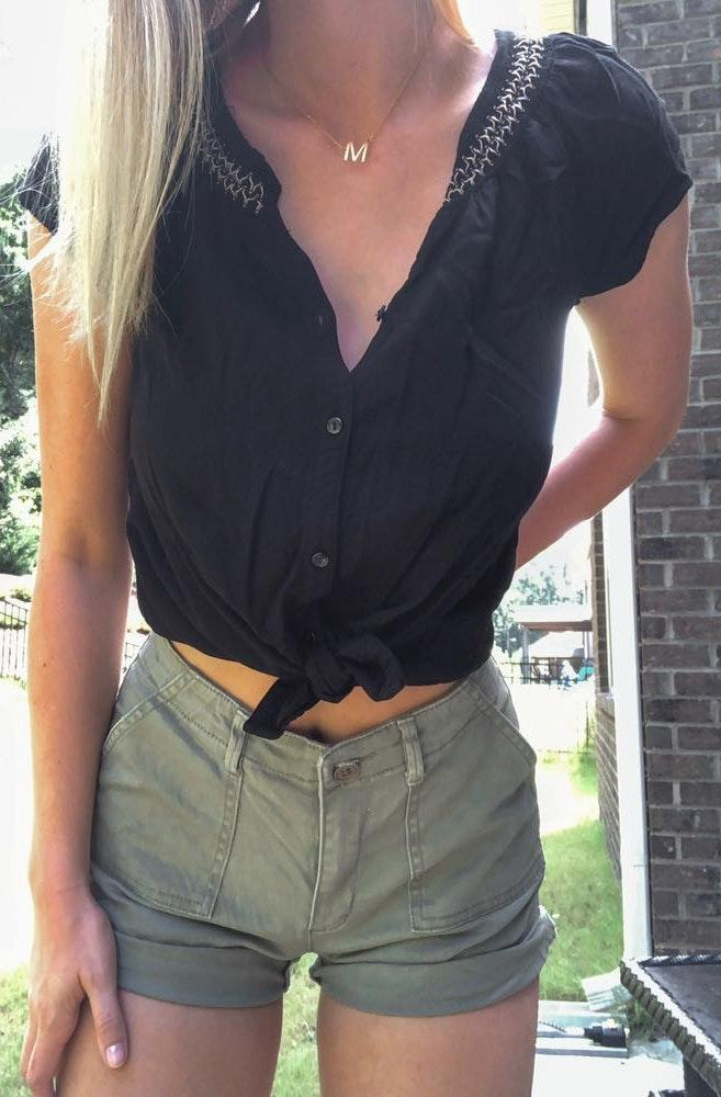 Urban Outfitters Army Green Short
