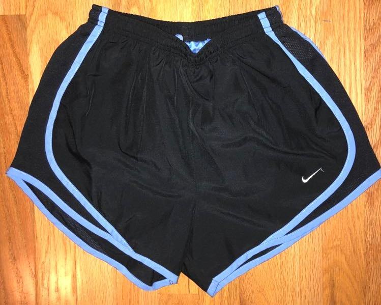 Nike Black/blue  Dry-Fit Shorts