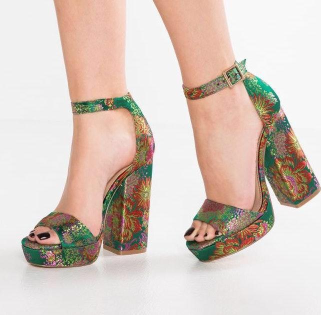 Steve Madden Floral Jasmine High Heels
