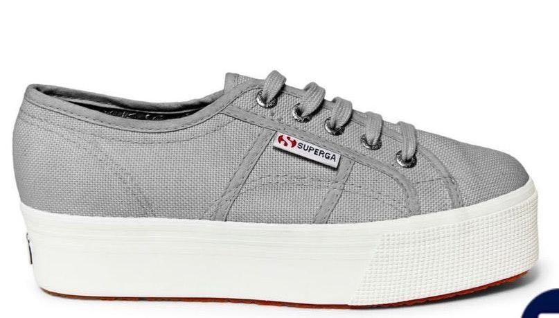 dcb19eec531 Superga Grey Platform Shoes. Superga Grey Platform Shoes.  45. Show Me Your  Mumu Georgia Overalls