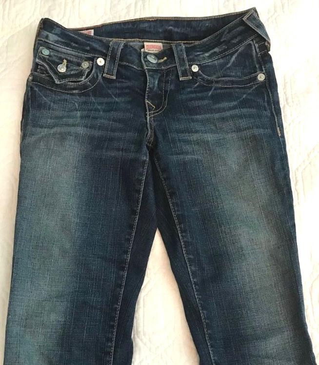 True Religion Faded Skinny Jeans