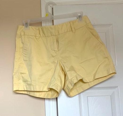 Vineyard Vines yellow shorts