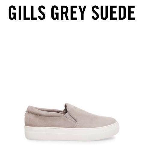 Steve Madden Gray Gills Slip On
