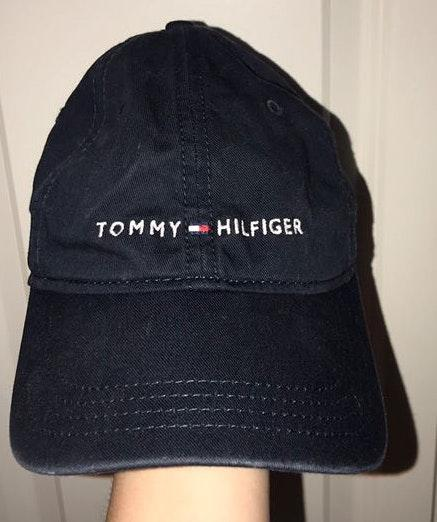 332d067755aef0 We're the buy/sell app for cute clothes. Say to being bored of your  clothes. Home Tommy Hilfiger Navy Hat