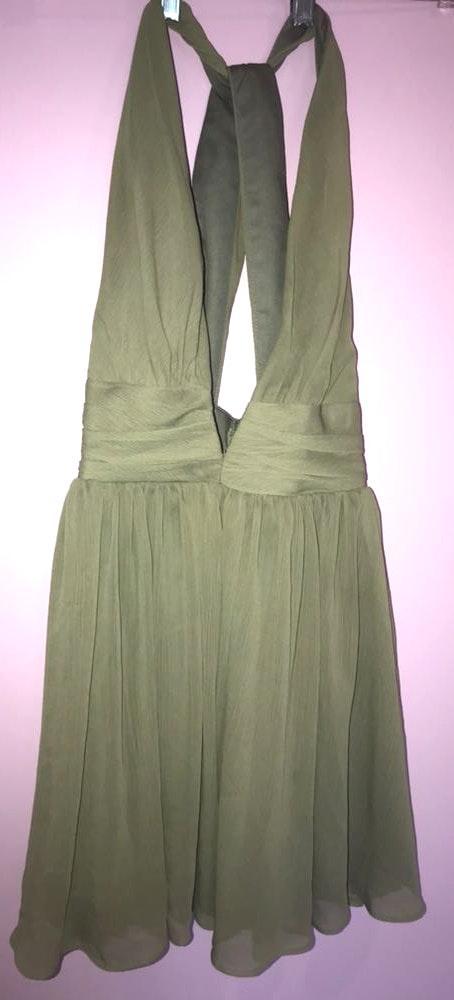 Xenia Green Cute  Dress
