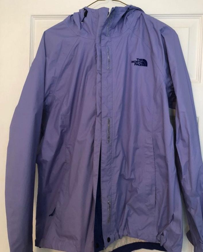 The North Face Periwinkle Rain Jack