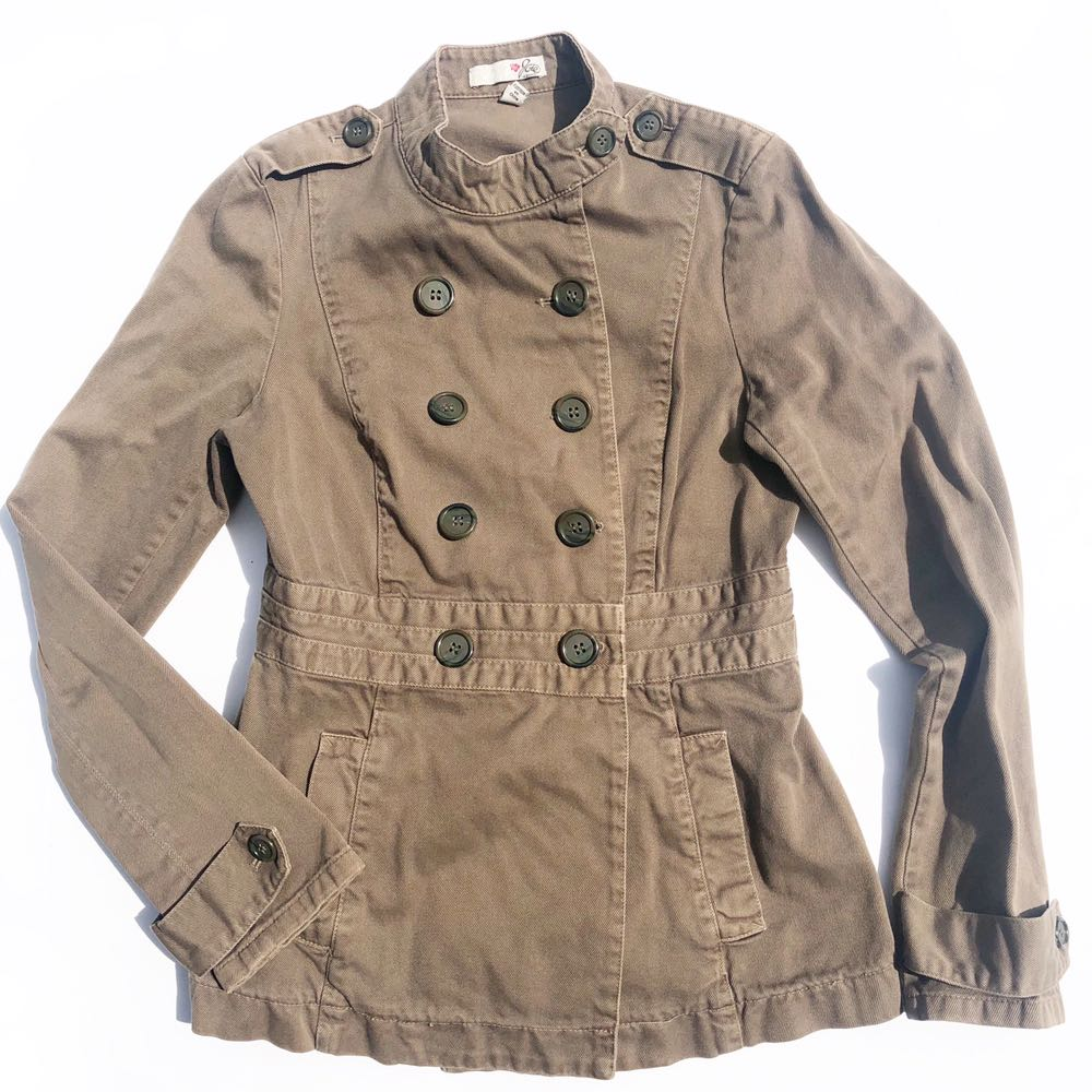 Joie Double Breasted Utility Jacket