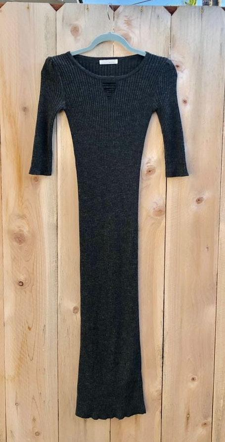 Sabo Skirt Sexy Maxi Sweater Dress Xs