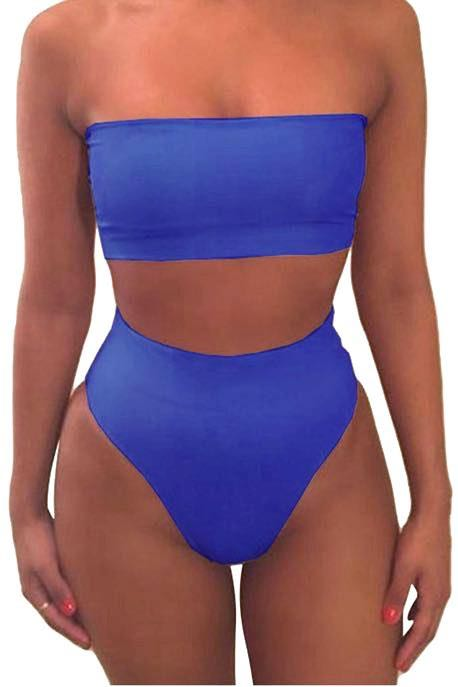 Royal Blue Bikini Set
