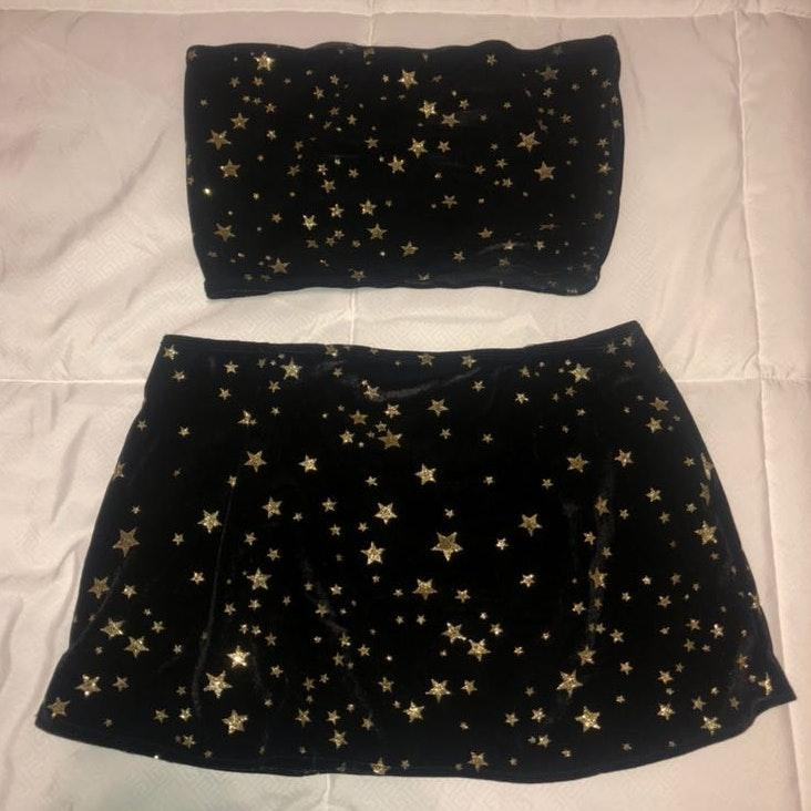Star two piece festival outfit