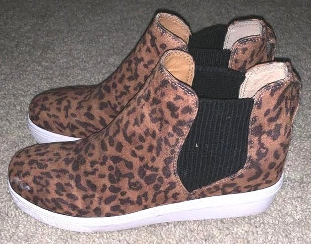 Steve Madden Cheetah Print High Tops
