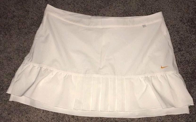 Nike White Tennis Skirt
