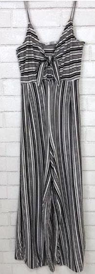 Pull & Bear Striped Jumpsuit