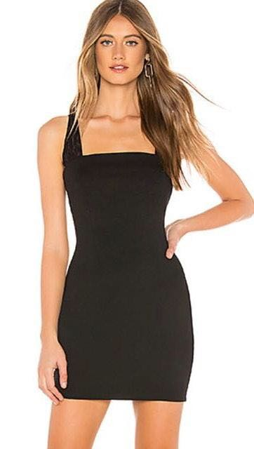 by the way. Black Dress