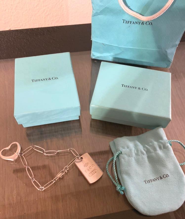 Tiffany & Co. Tiffany & Co  Charm Bracelet W/two Charms