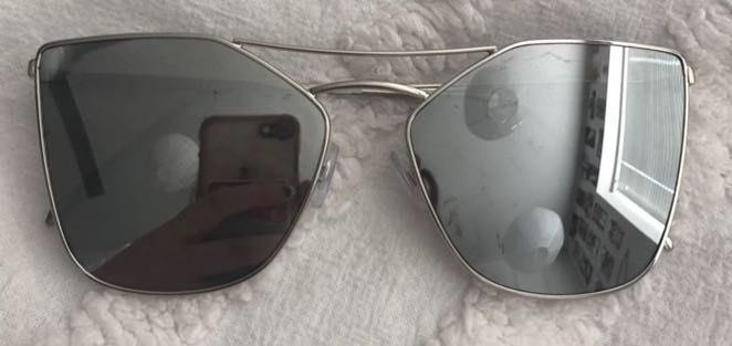 Free People Silver Sunglasses