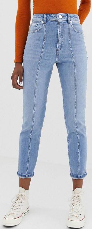 High waisted ASOS Mom jeans