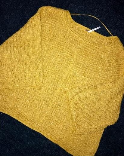 Free People Yellow Sweater