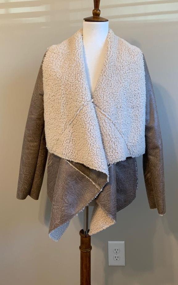 Forever 21 Shearling Coat