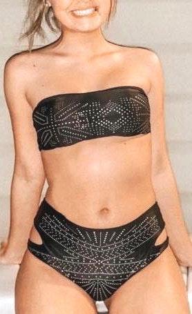 Tiffanys Boutique Black Bikini